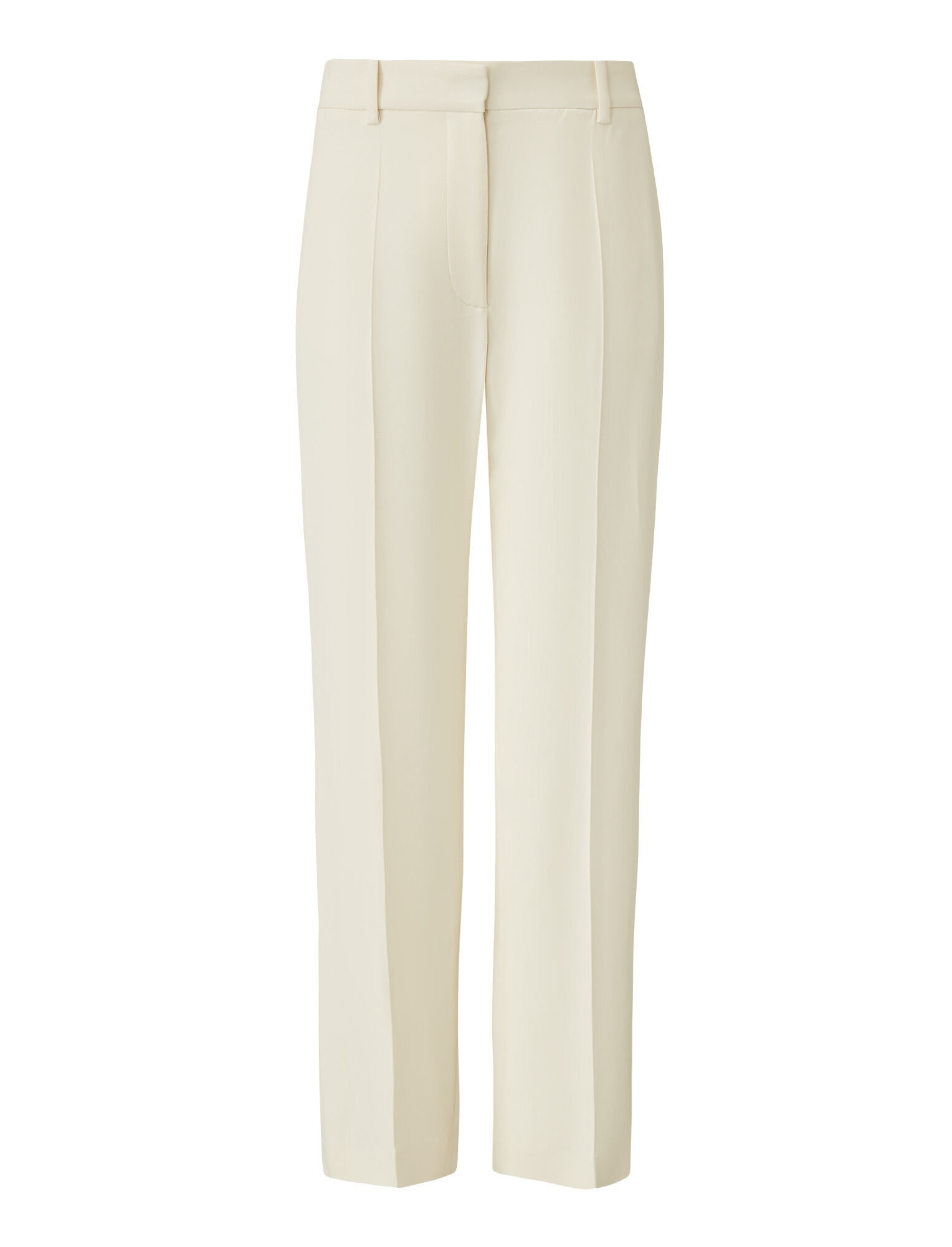 Joseph, Coleman Stretch Cady Trousers, in IVORY