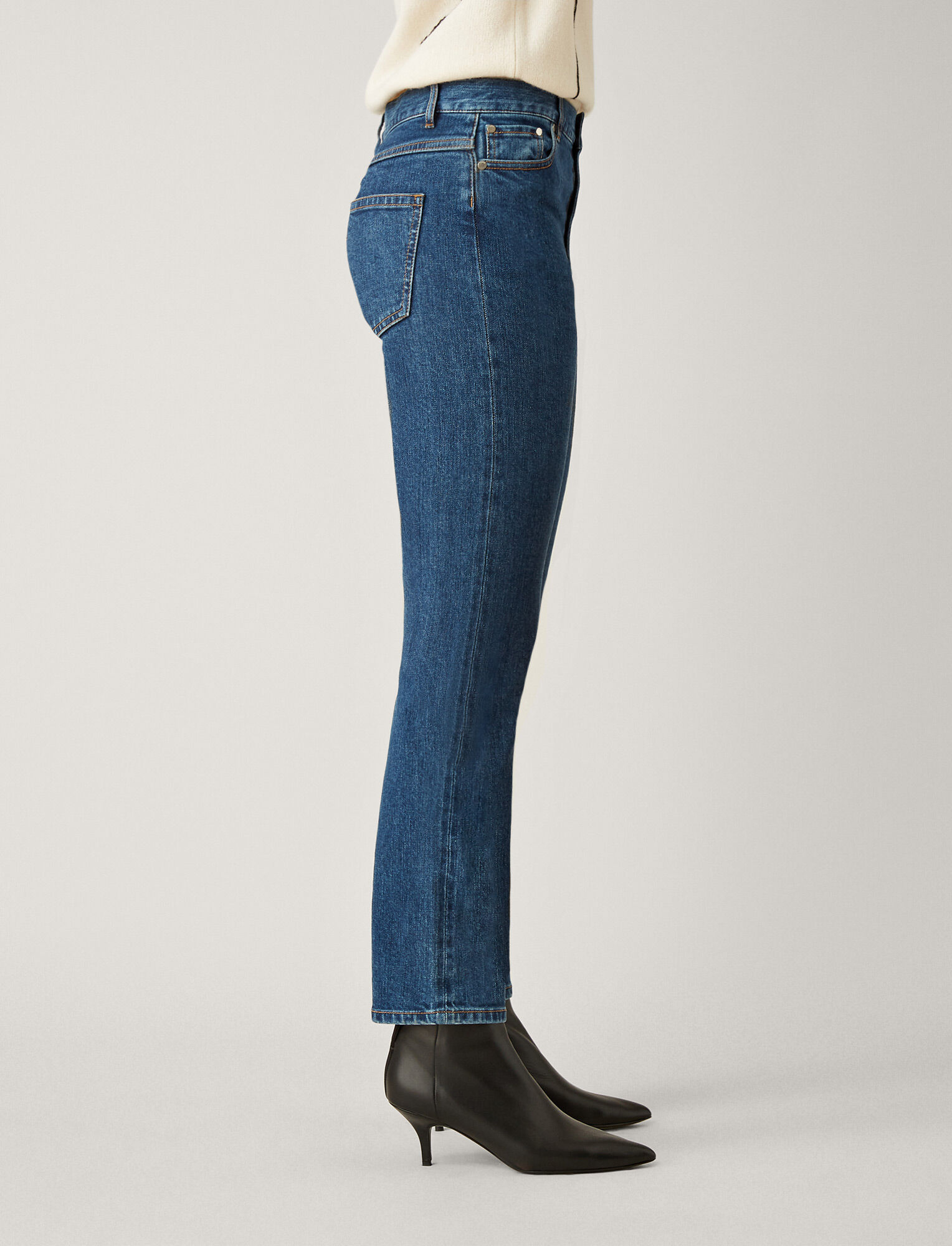 Joseph, Pantalon Den en denim, in AUTHENTIC BLUE