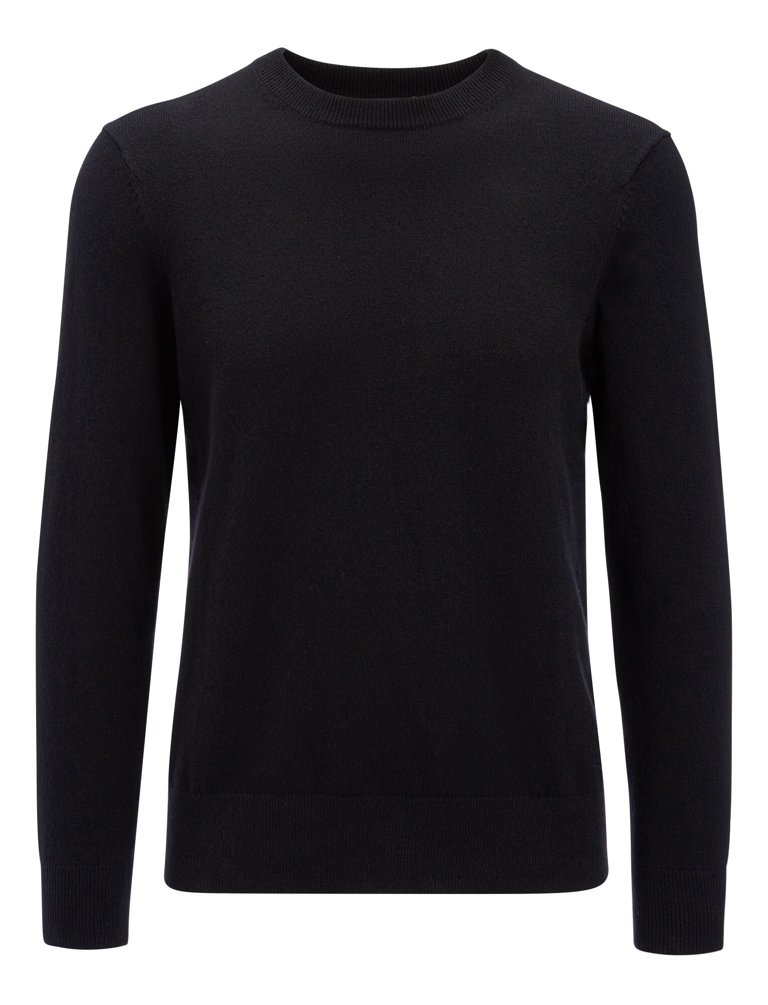 Joseph, Mongolian Cashmere Knit, in BLACK