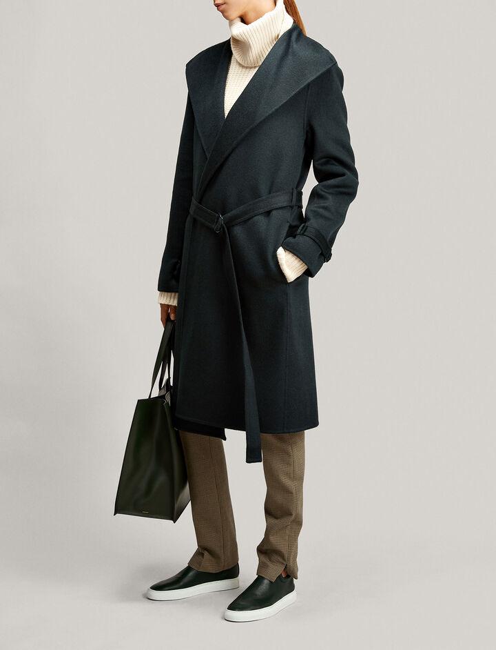 Joseph, New Lima Double Cashmere Coat, in BERMUDA