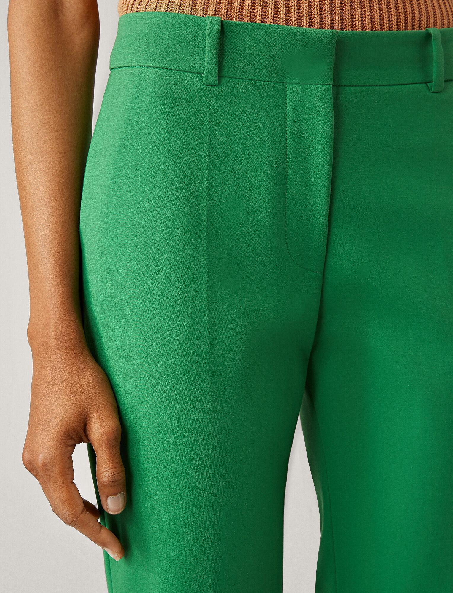 Joseph, Coleman Double Cotton Stretch Trousers, in AMAZON