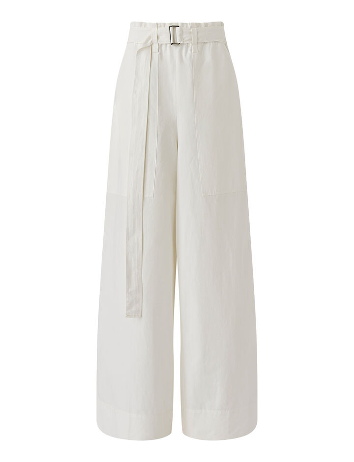 Joseph, Taika-Cotton Linen, in OFF WHITE