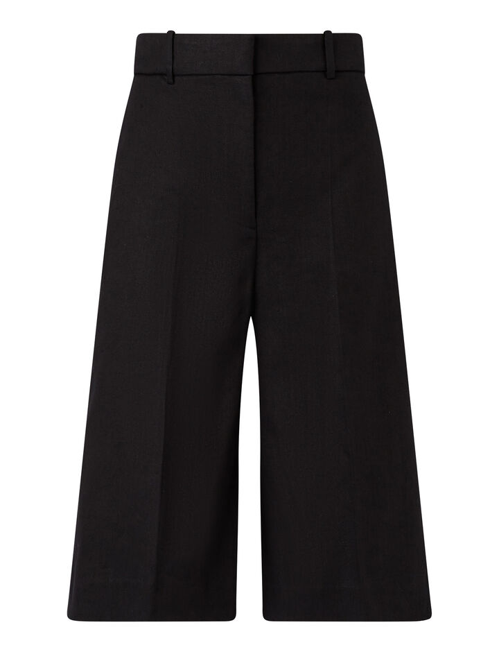 Joseph, Samuel-Stretch Linen, in BLACK
