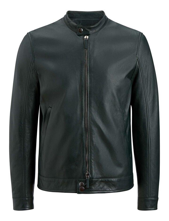 Joseph, Simon Leather Nappa Leather Jacket, in BERMUDA