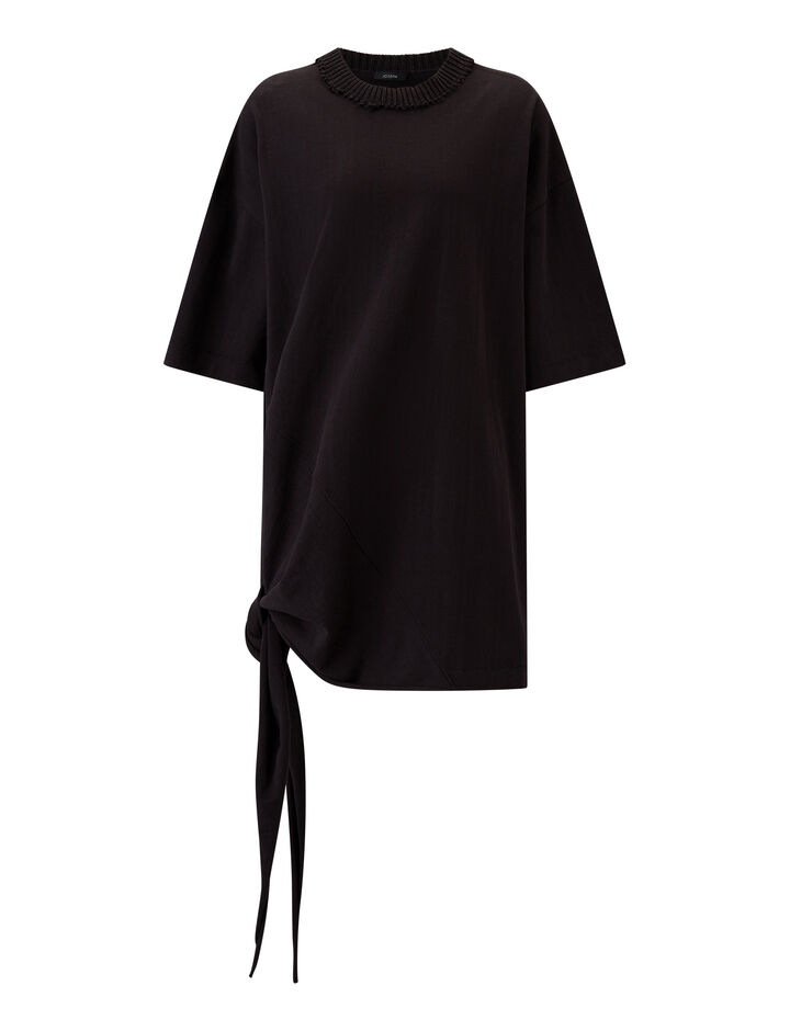 Joseph, Tunic-Calico Jersey, in BLACK