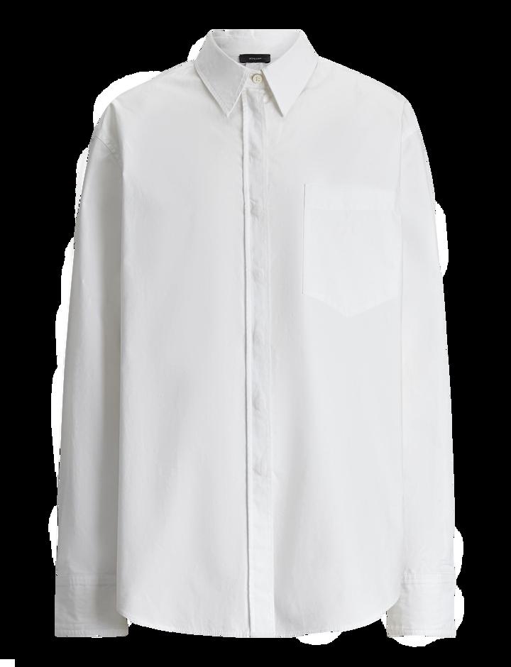 Joseph, Gibson Cotton Poplin Blouse, in WHITE