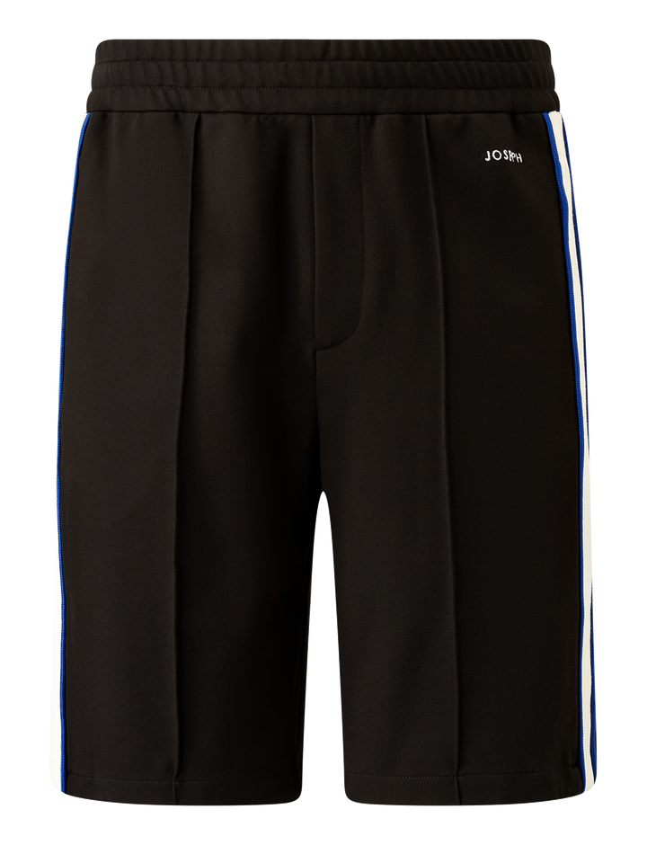 Joseph, Sprint Jersey Track Shorts, in BLACK