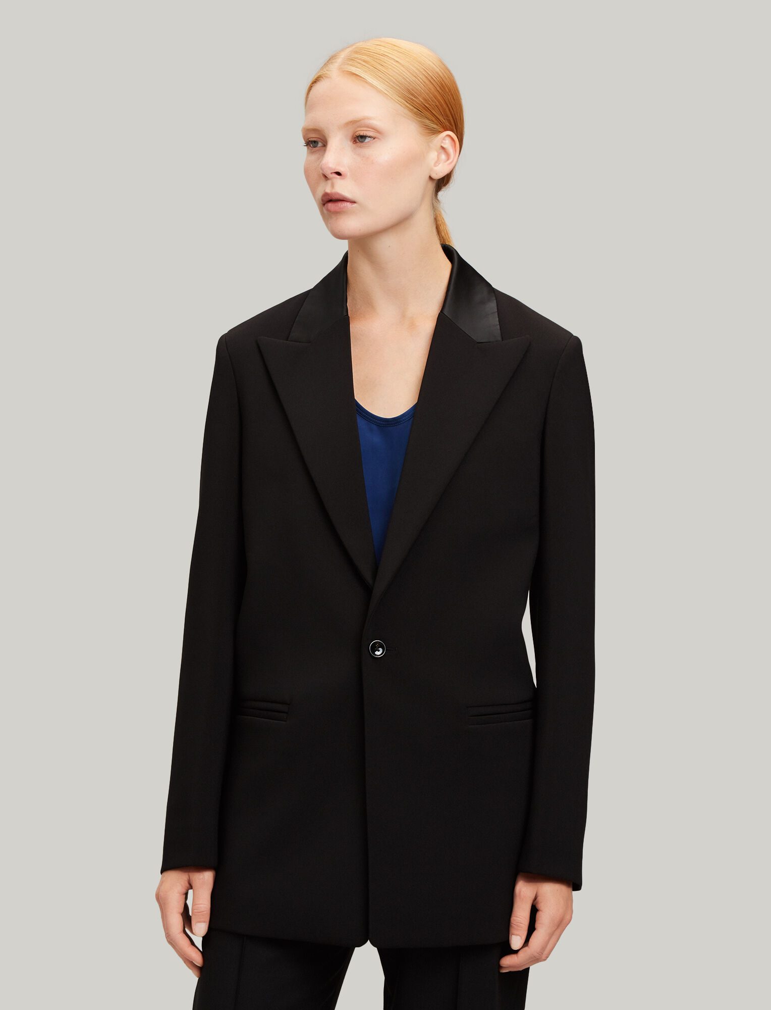 Joseph, Trenton Cady Stretch Jacket, in BLACK