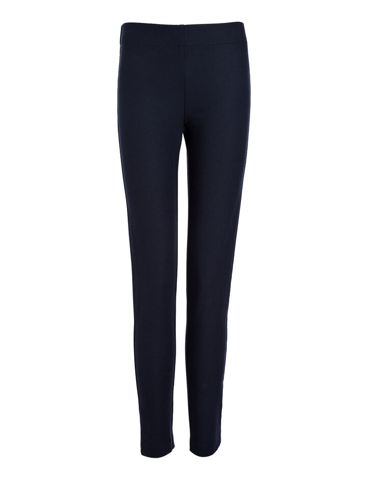 Joseph, Legging en gabardine stretch, in NAVY