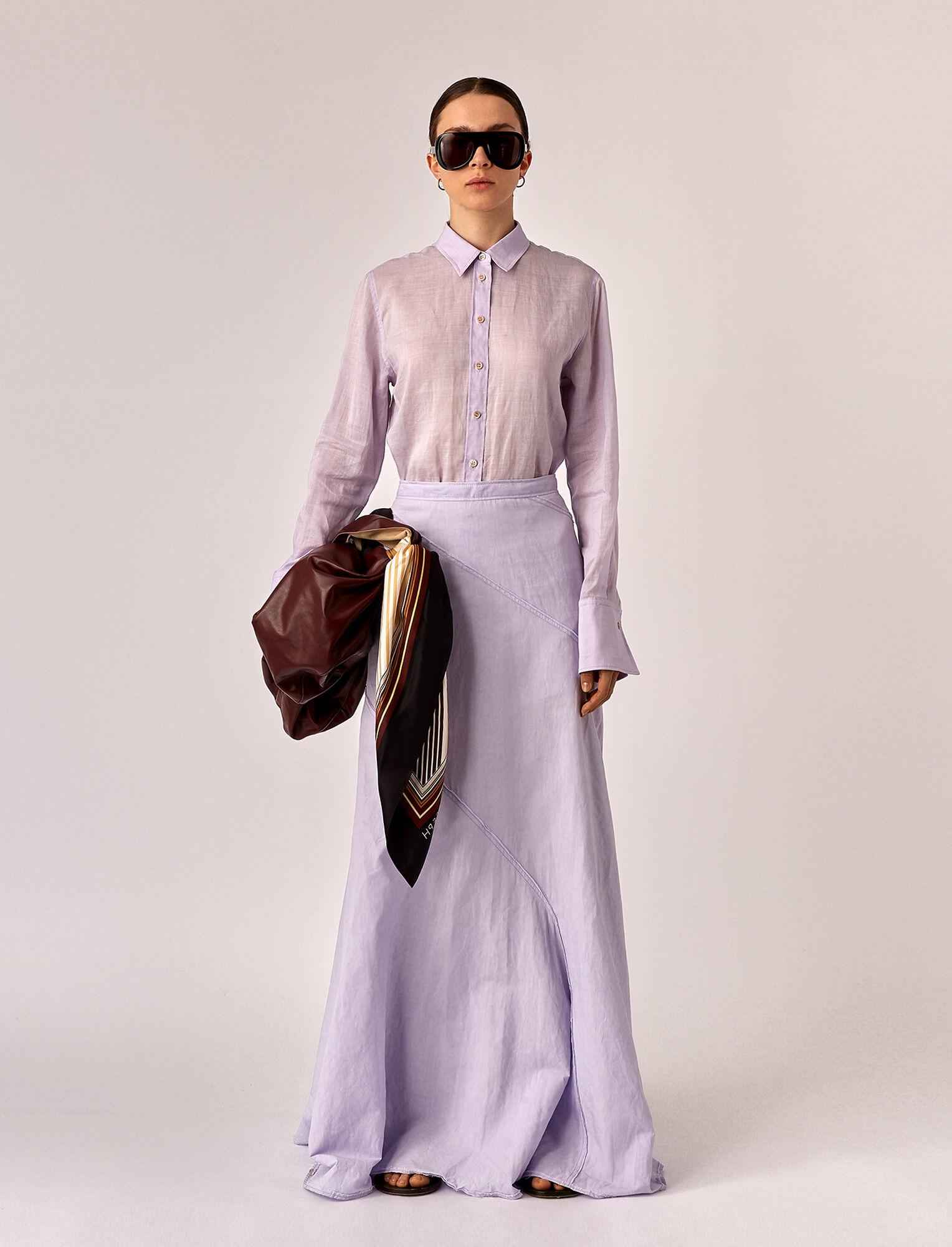 Joseph, Seia Linen Skirt, in PARME