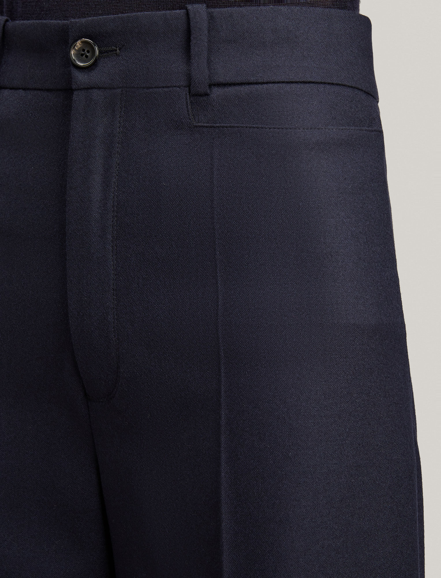 Joseph, Dana Flannel Stretch Trousers, in NAVY