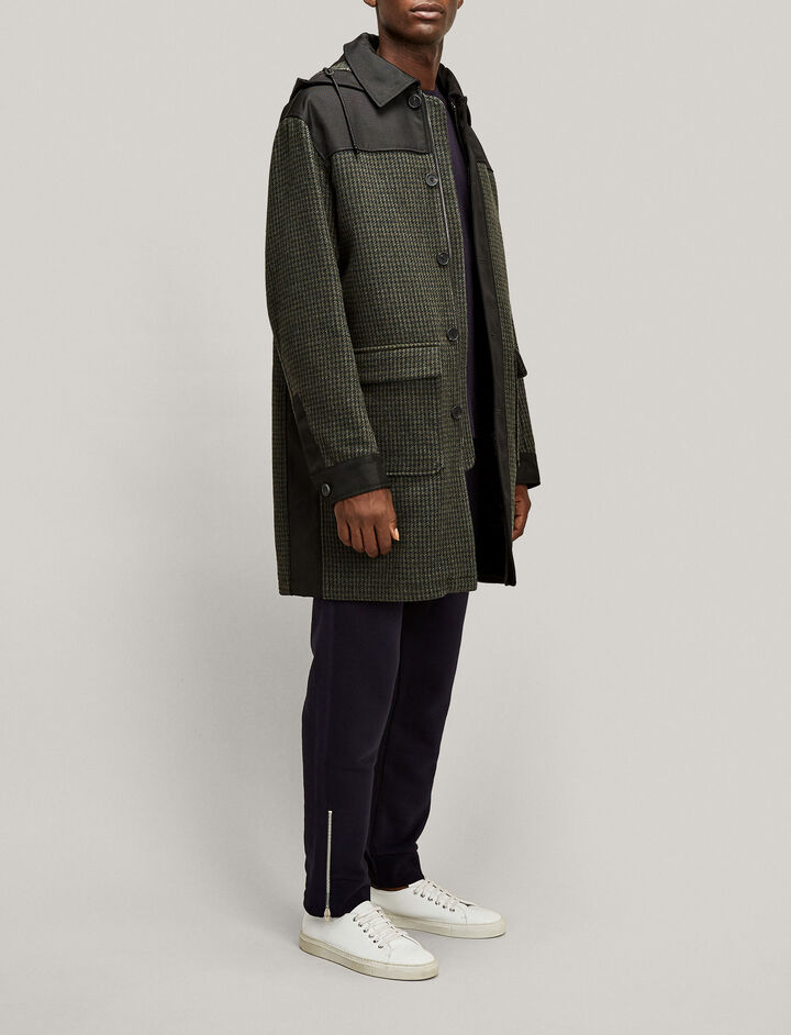 Joseph, Lionel Houndstooth Coat, in MILITARY
