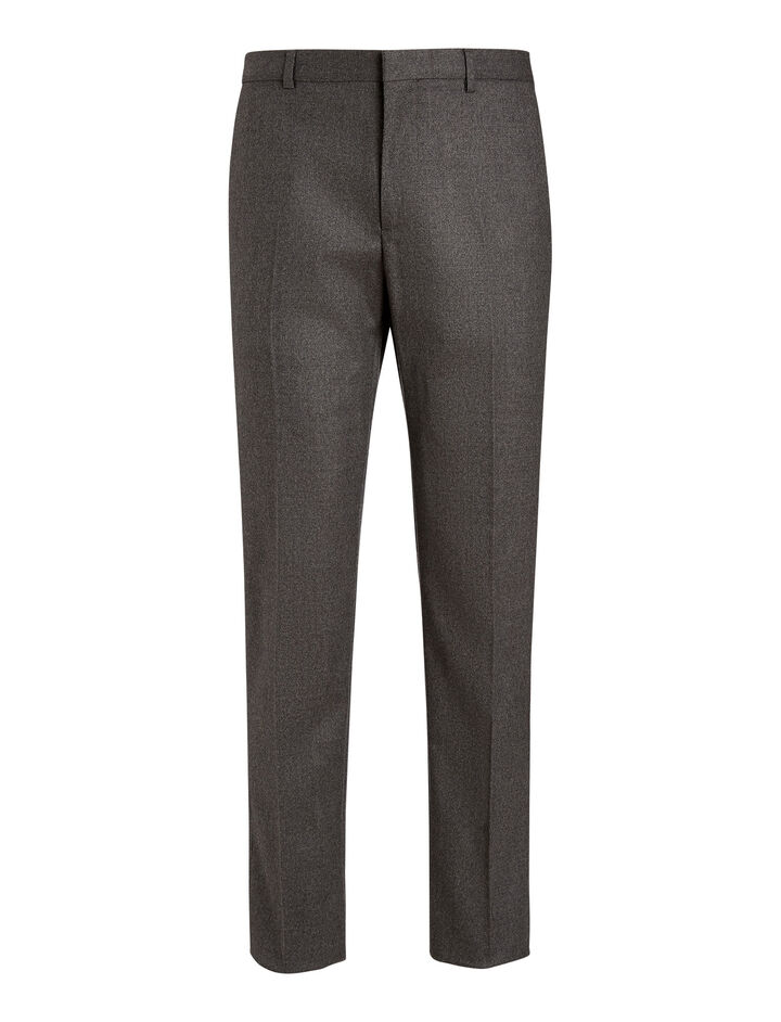 Joseph, Jack Flanelle Stretch Trousers, in CHARCOAL
