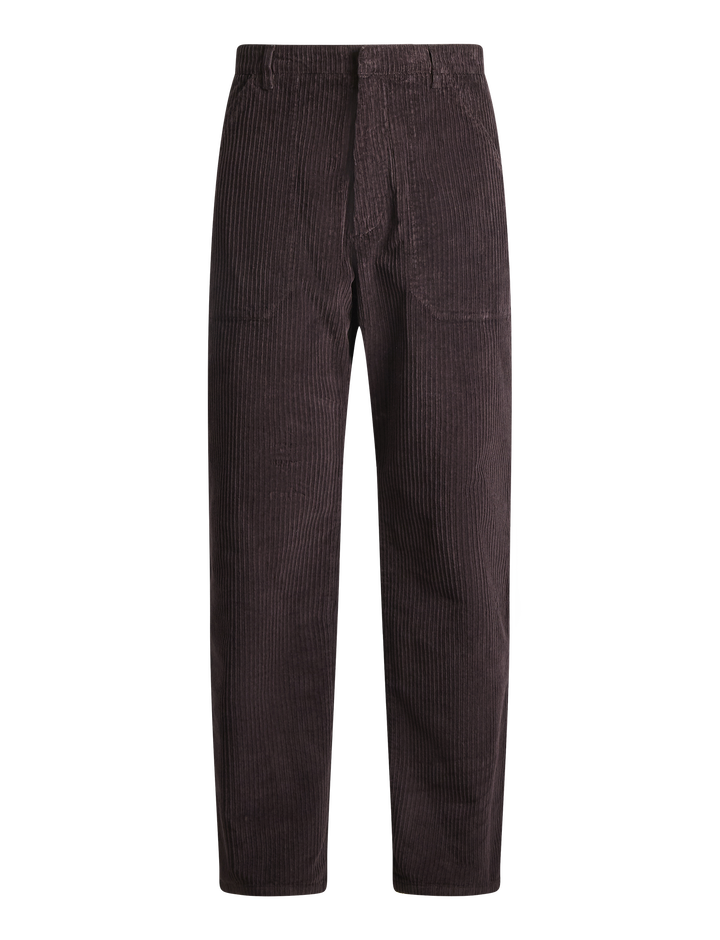 Joseph, Bridge Corduroy Trousers, in BURGUNDY