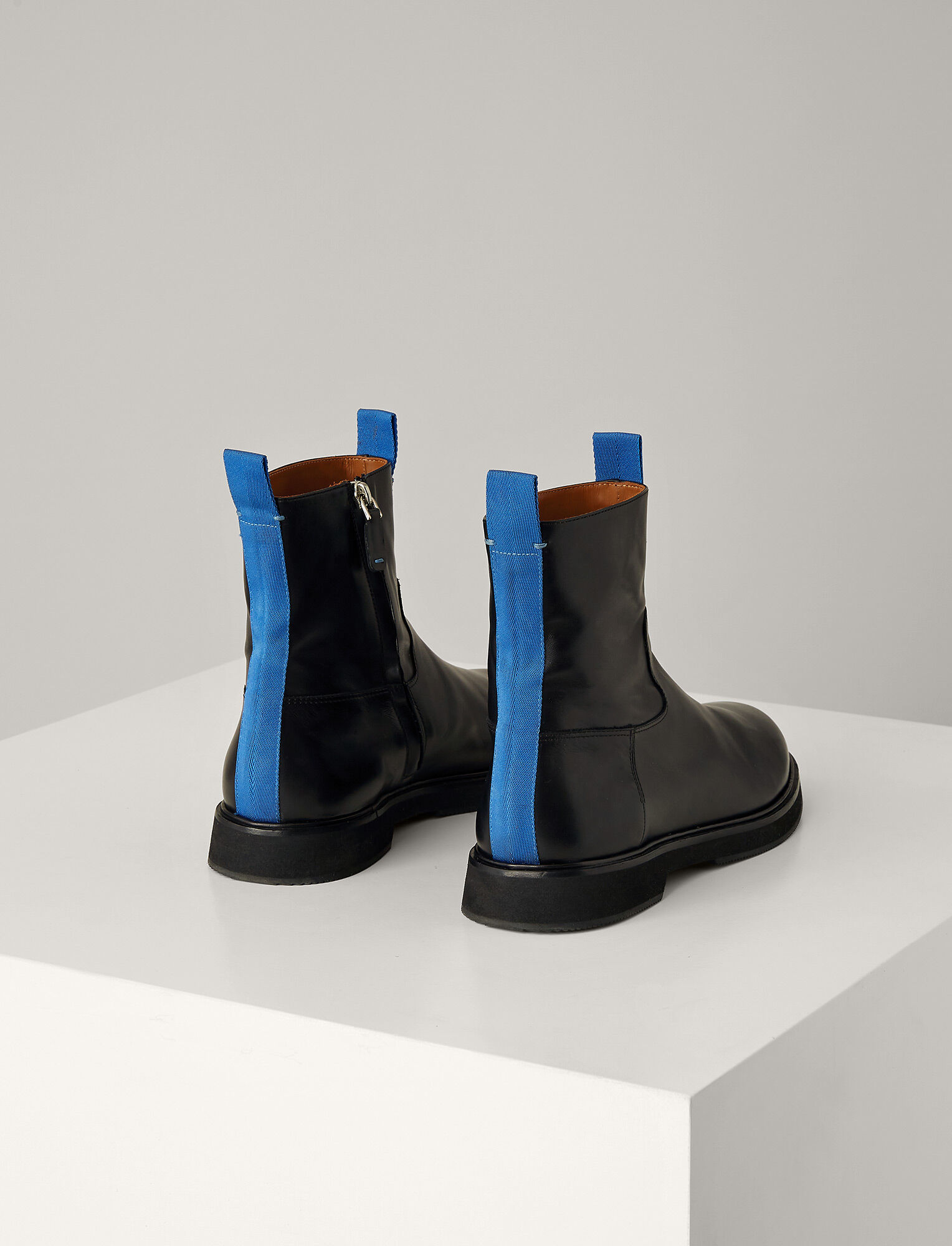 Joseph, Tommy Leather Ankle Boot, in BLACK