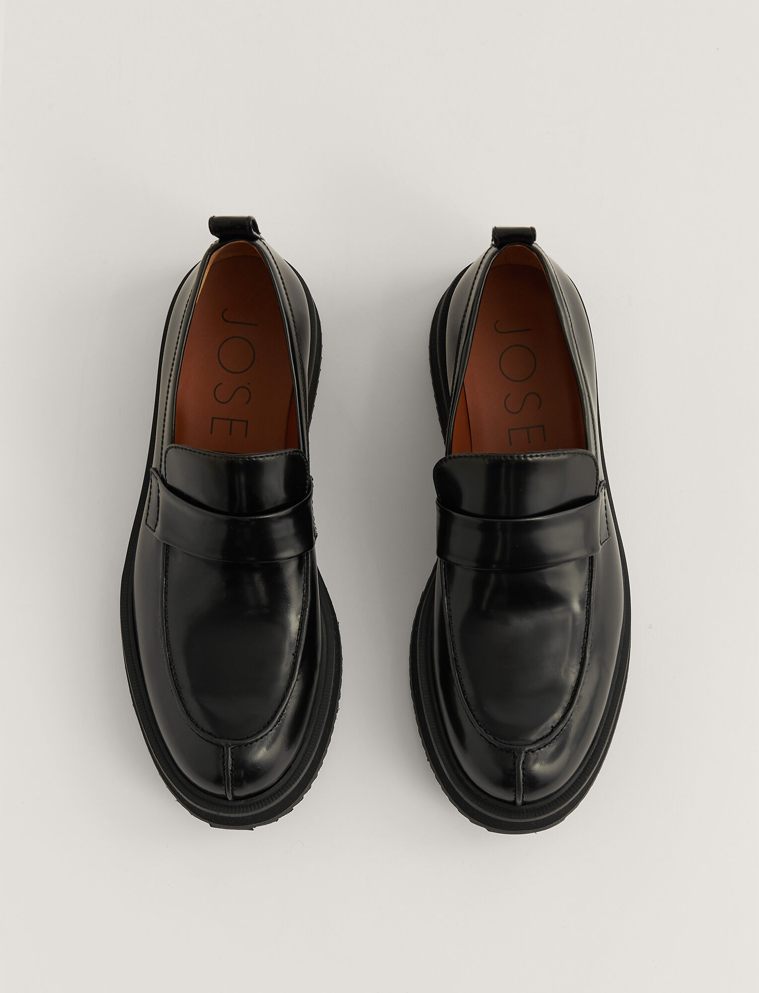 Joseph, British Loafer, in Black