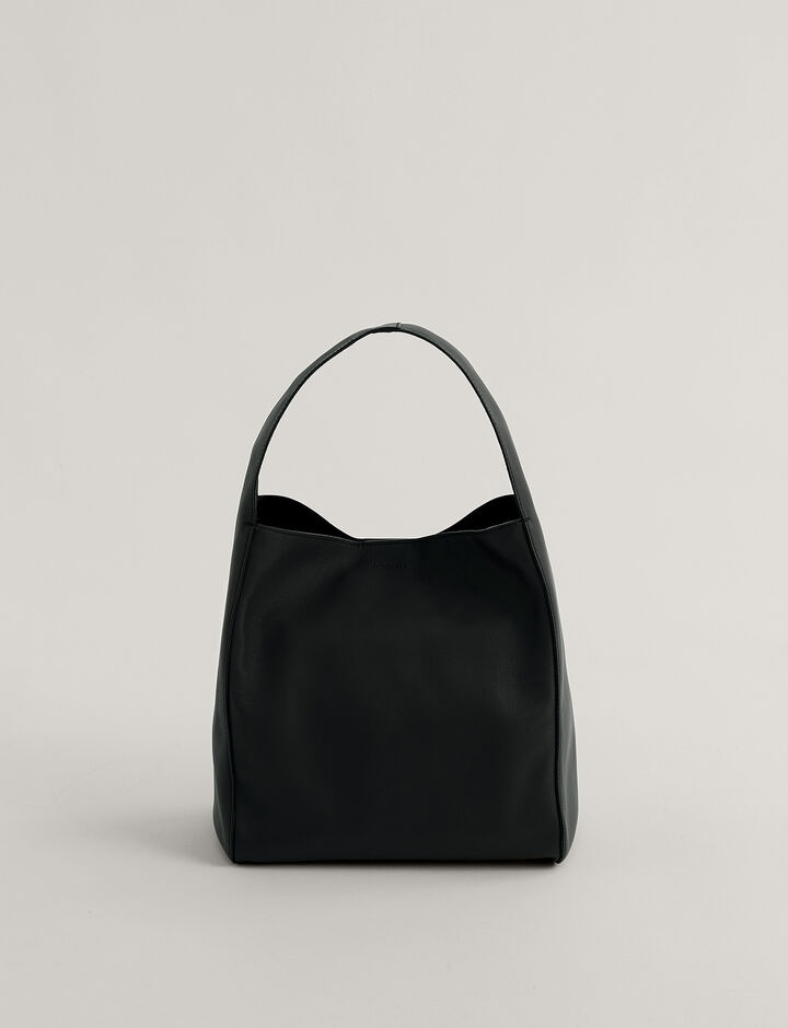 Joseph, Slouch S Shoulder Bag, in Black