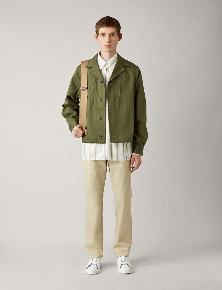 Joseph, Chris-Engineered Twill, in KHAKI