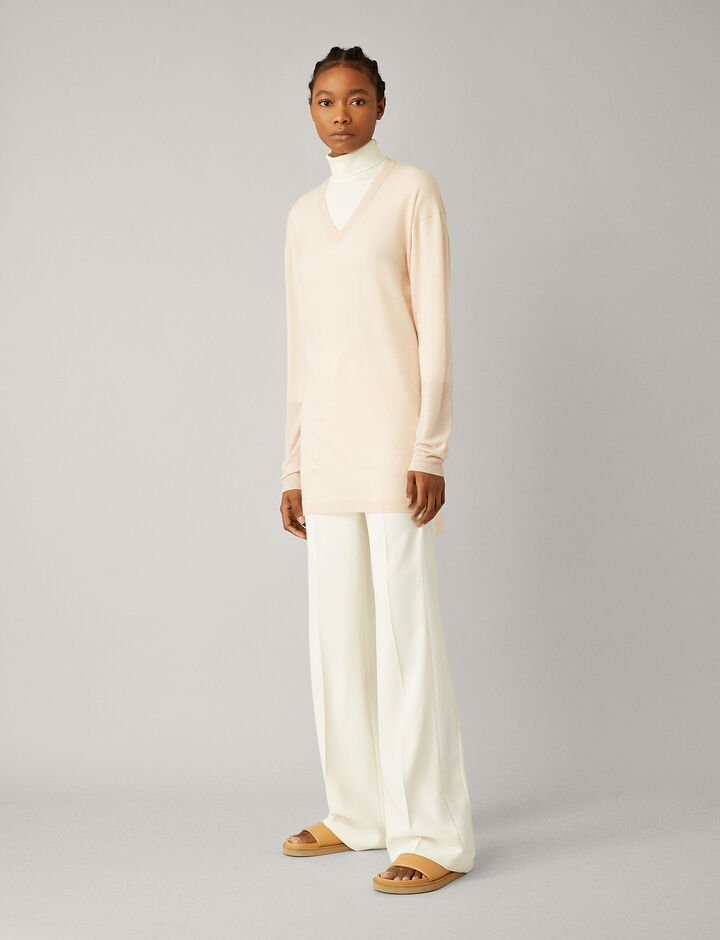 Joseph, V Nk Tunic-Cashair, in ROSEWATER