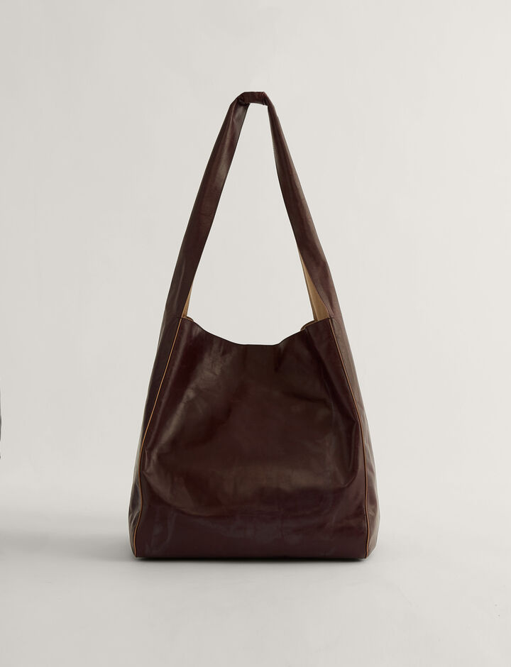 Joseph, Slouch Xl-Leather, in CHESTNUT