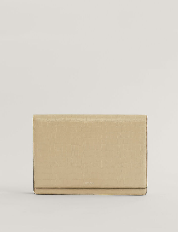 Joseph, Flap Bag Crossbody Bag, in Beige