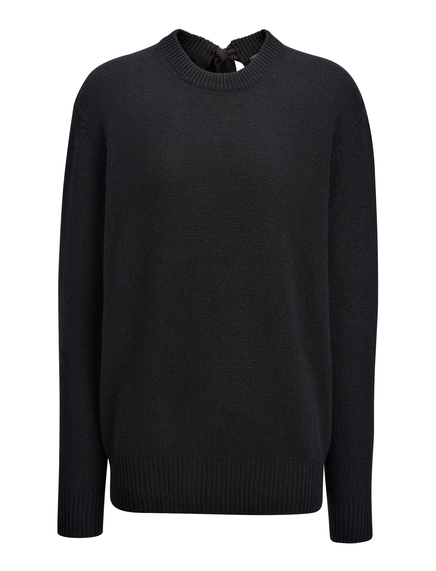 Joseph, Open Cashmere Top, in BLACK