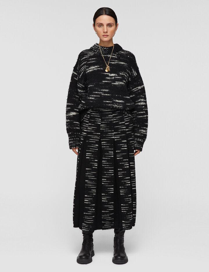 Joseph, Printed Yarn Skirt, in