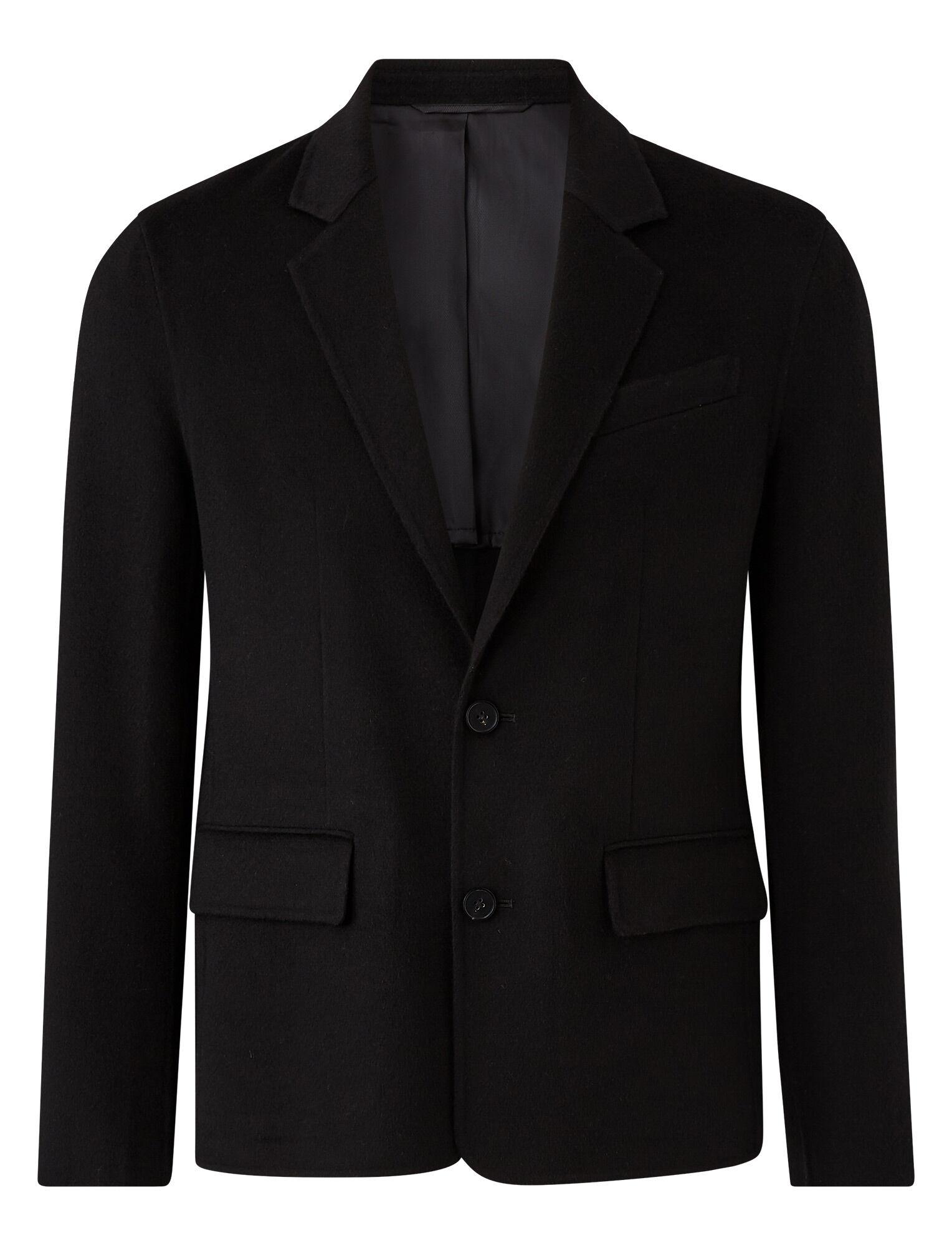 Joseph, Bernie Light Double Face Coat, in BLACK