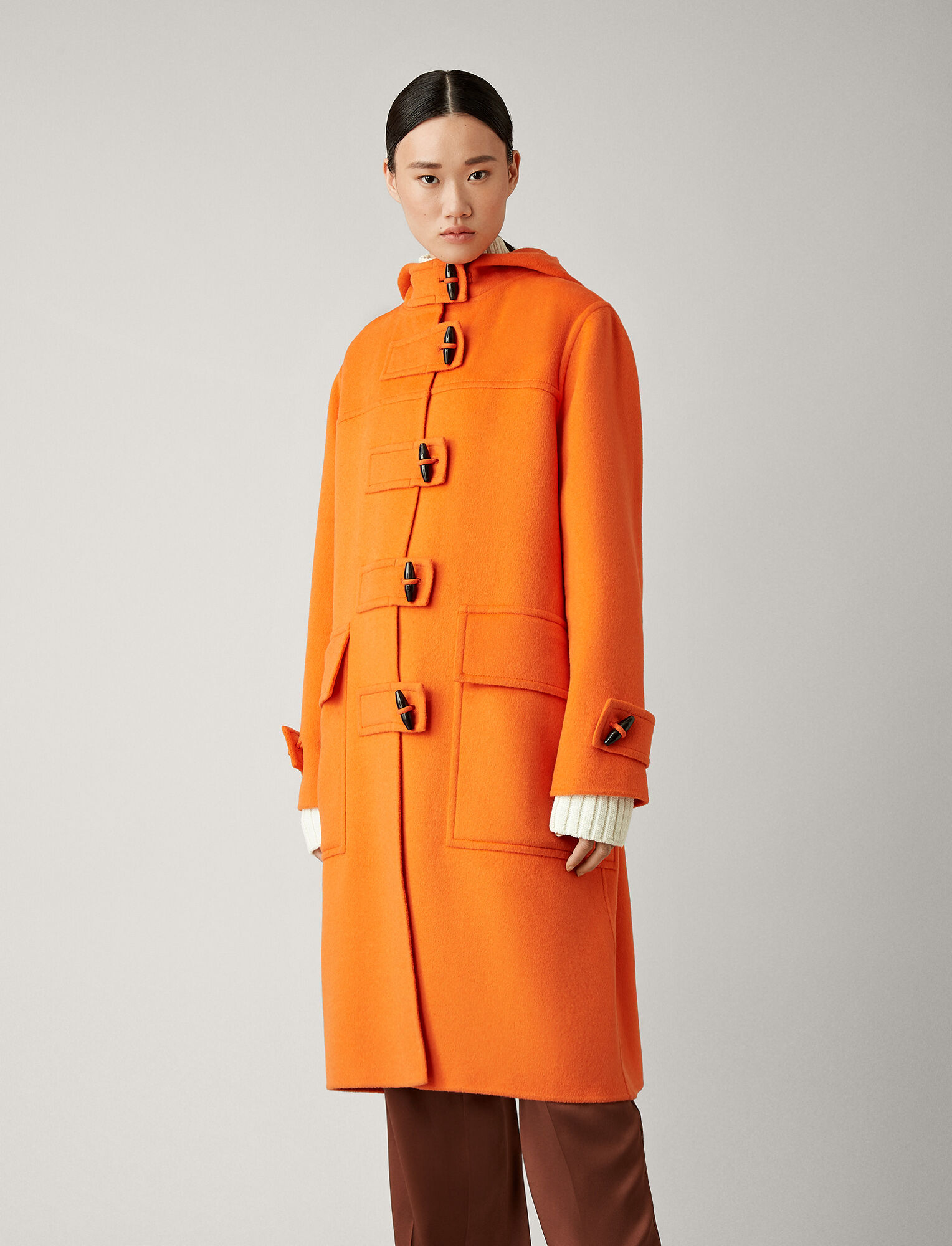 Joseph, Maken Teddy Double Coat, in CARROT
