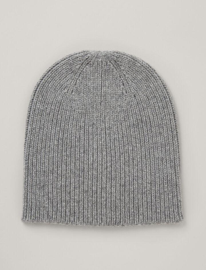 Joseph, Cashmere Luxe Hat, in PEBBLE