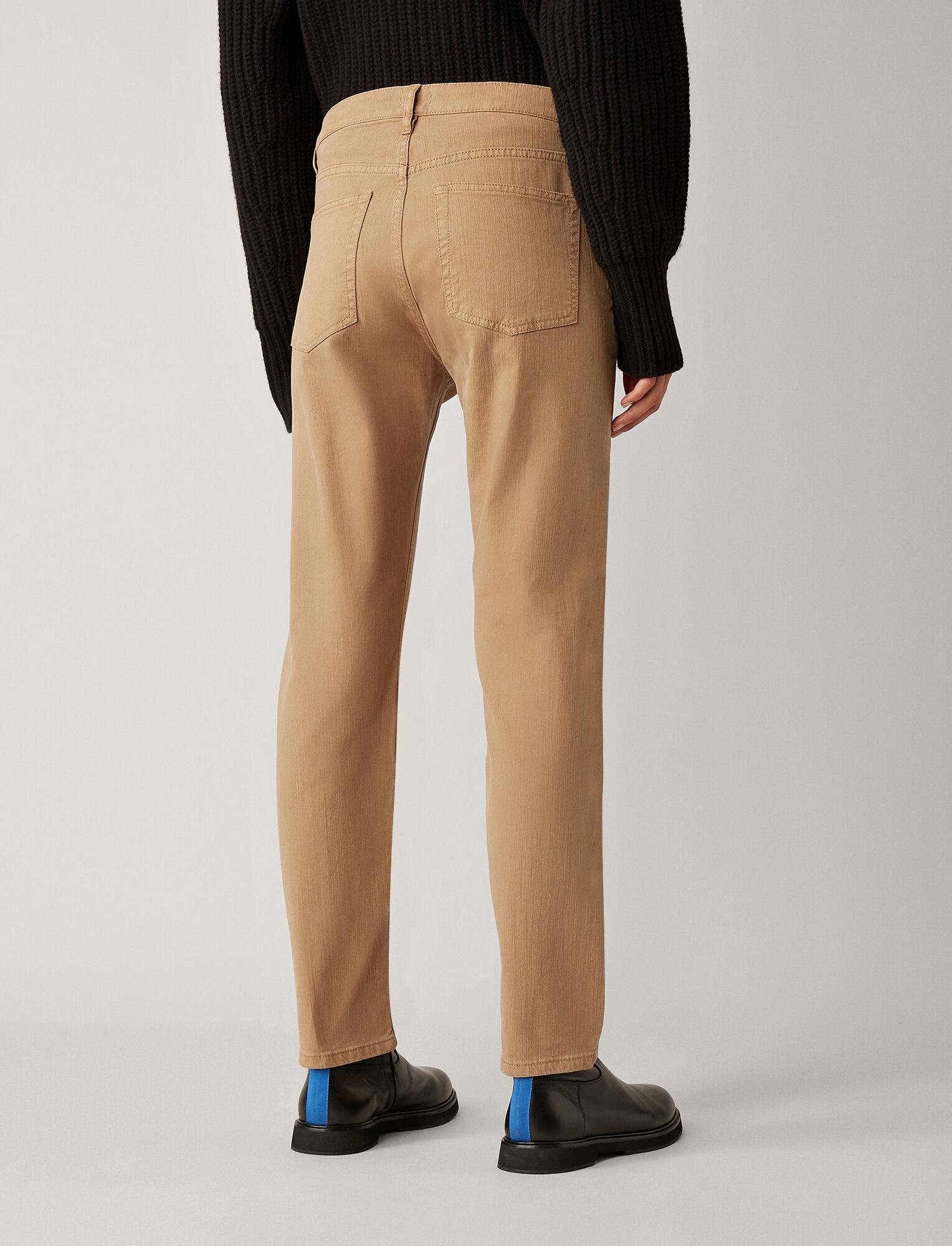 Joseph, Kemp Overdye Denim Trousers, in CAMEL