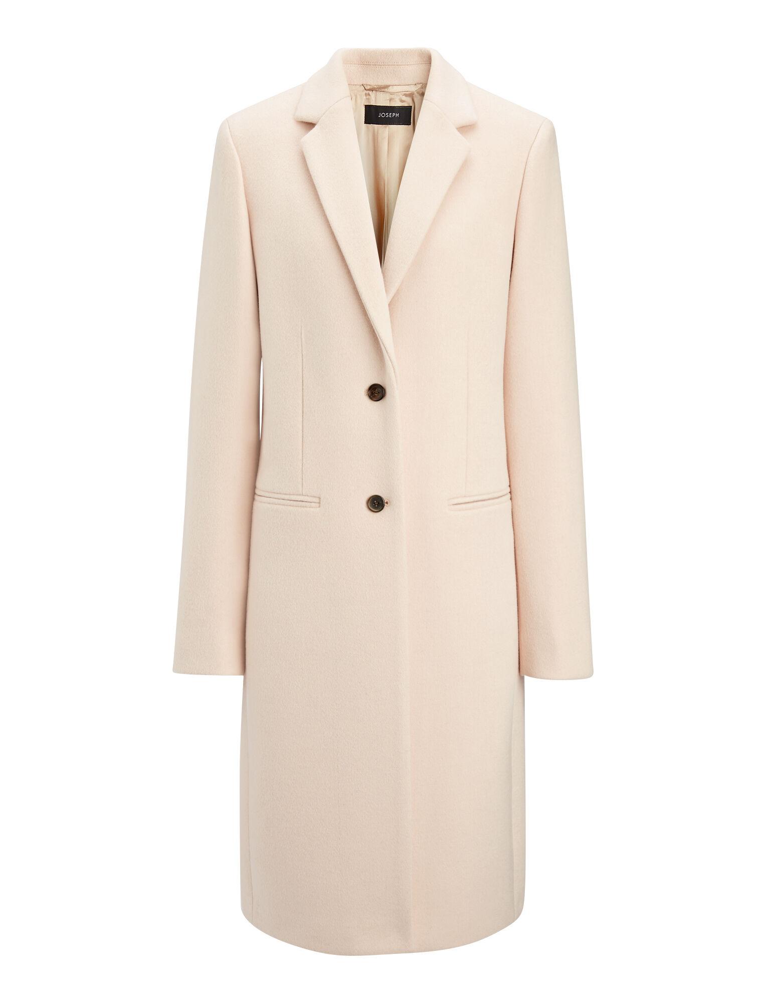 new wool coat martin coat in brown joseph