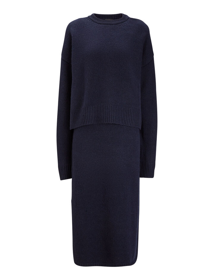 Joseph, Robin Cashmere Luxe Knit, in NAVY