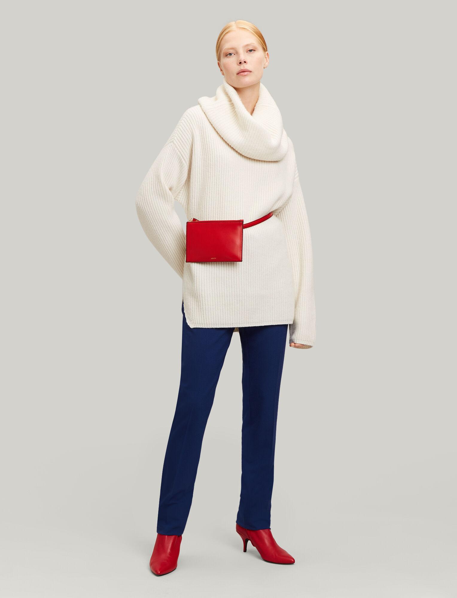 Joseph, Zoran Comfort Wool Trousers, in INDIGO