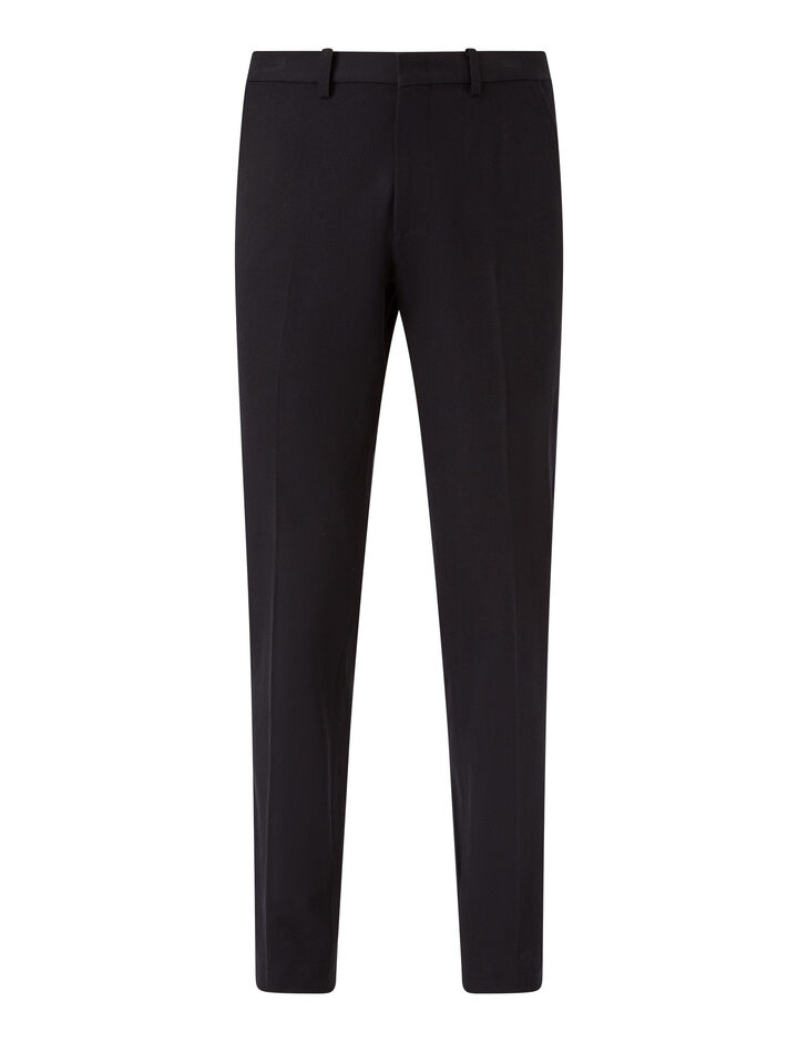 Joseph, Gabardine Stretch City Trousers, in NAVY