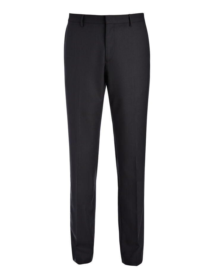 Joseph, Tropical Wool Darwin Suit Trouser, in BLACK