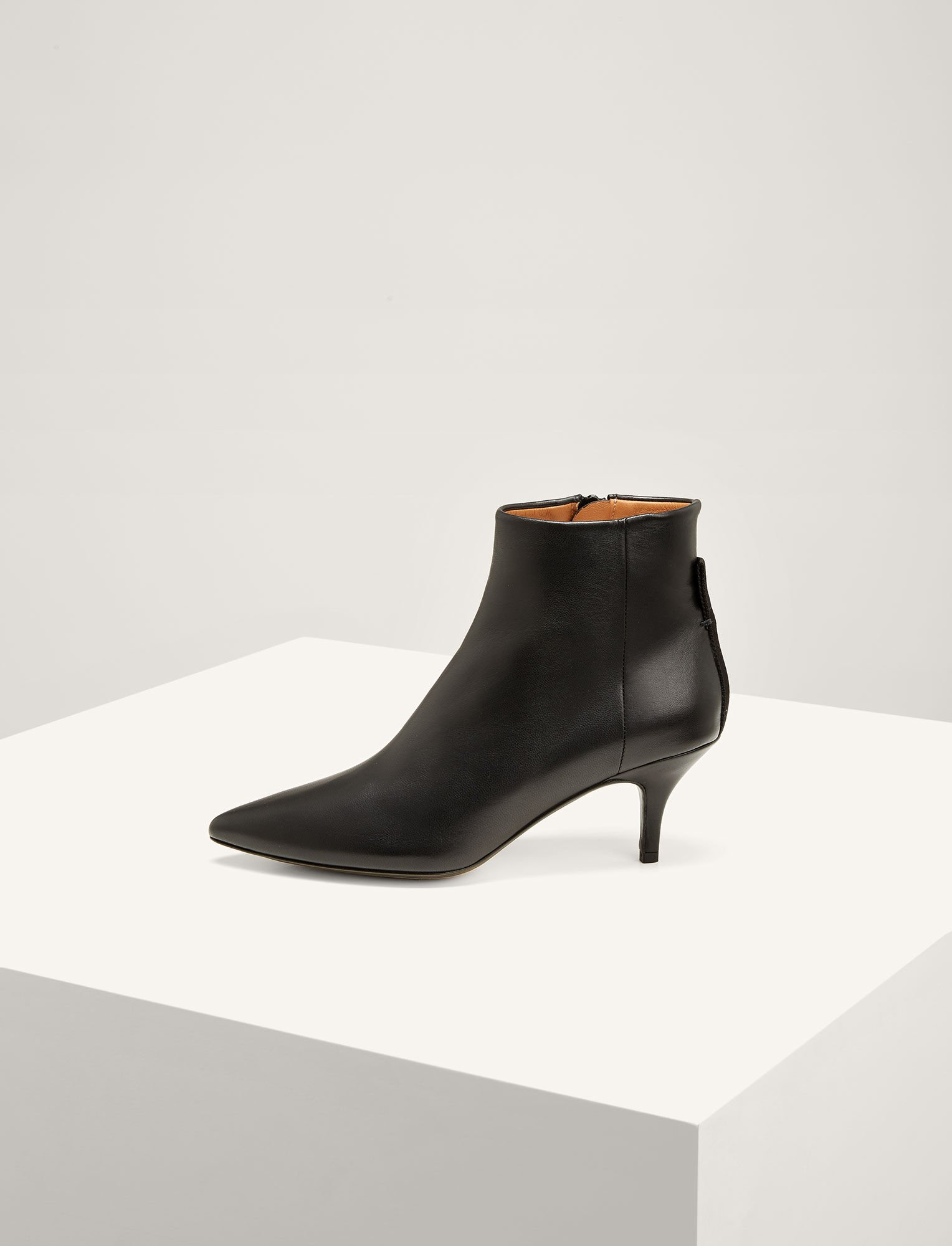 Joseph, The Sioux Pointed Boots, in BLACK