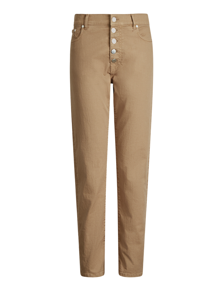 Joseph, Den Overdye Denim Trousers, in CAMEL