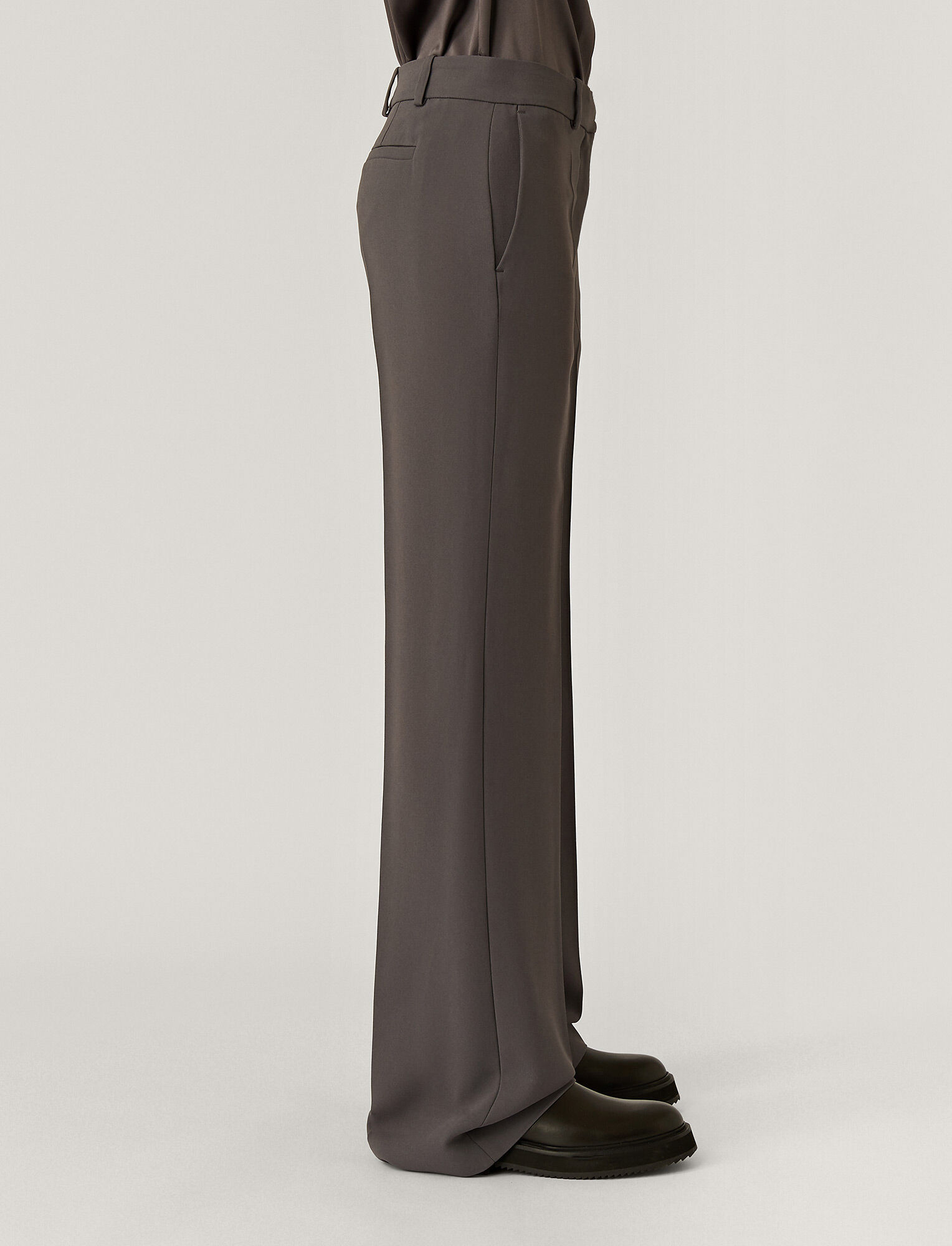 Joseph, New Cady Morissey Trousers, in CAPERS