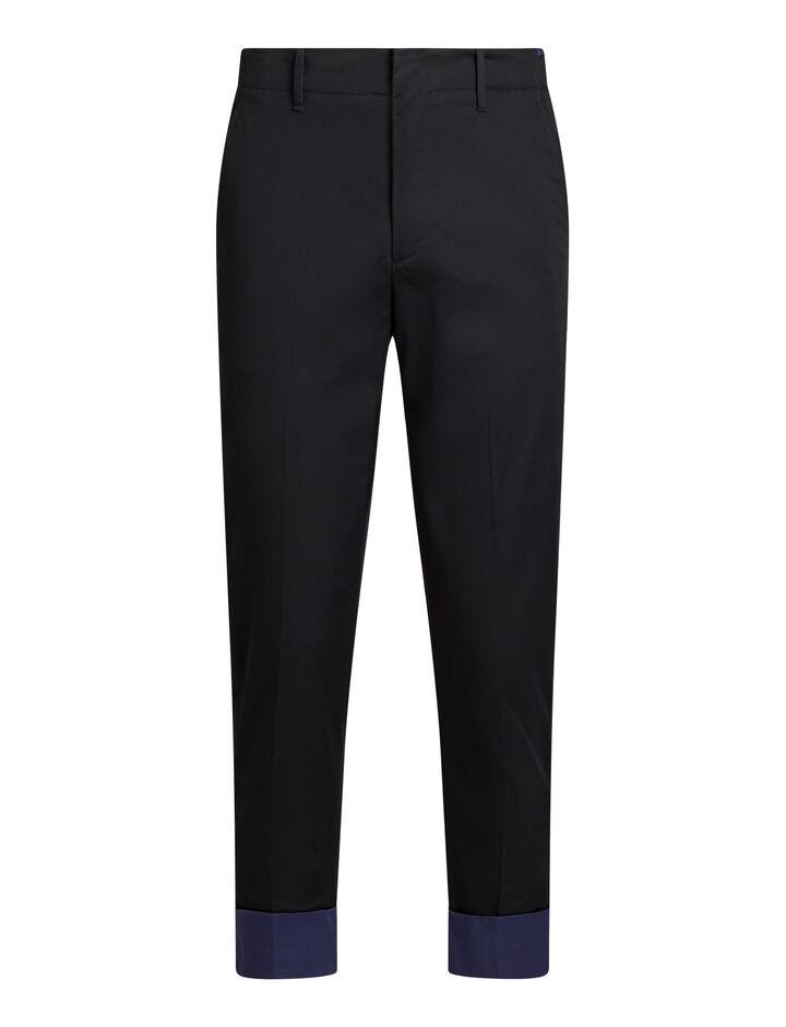 Joseph, Eddystone Fine Gabardine Stretch Trousers, in NAVY COMBO