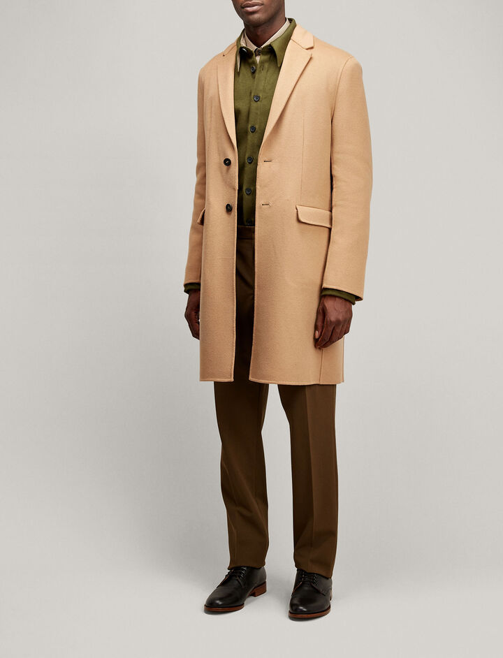 Joseph, Armand Luxe Double Wool Coat, in CAMEL