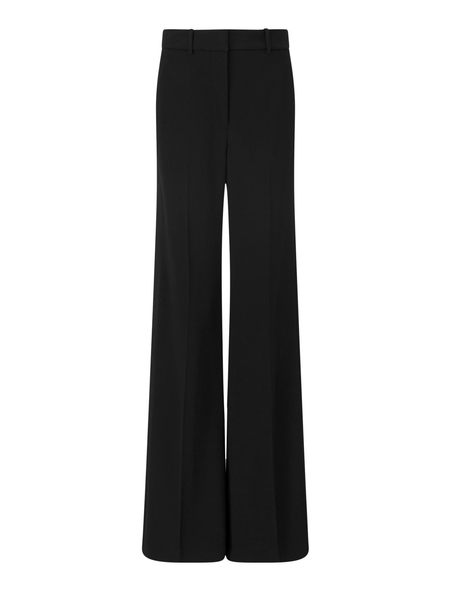 Joseph, Pantalon de smoking Morissey en cady stretch, in BLACK