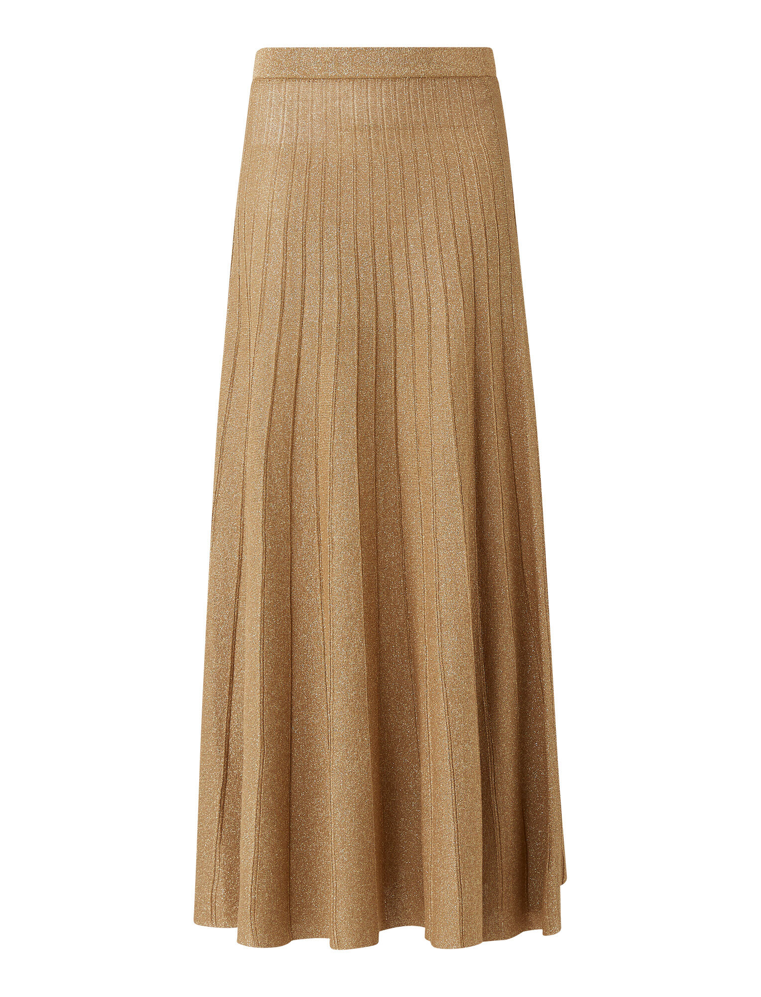 Joseph, Lurex Skirt, in CHAMPAGNE