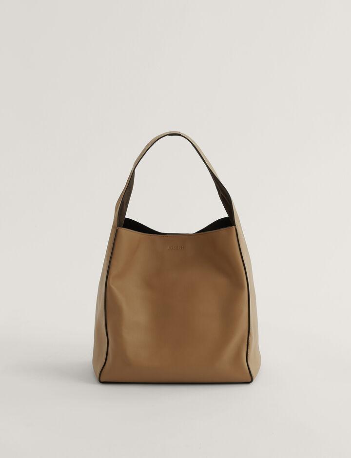 Joseph, Slouch S Shoulder Bag, in Saddle