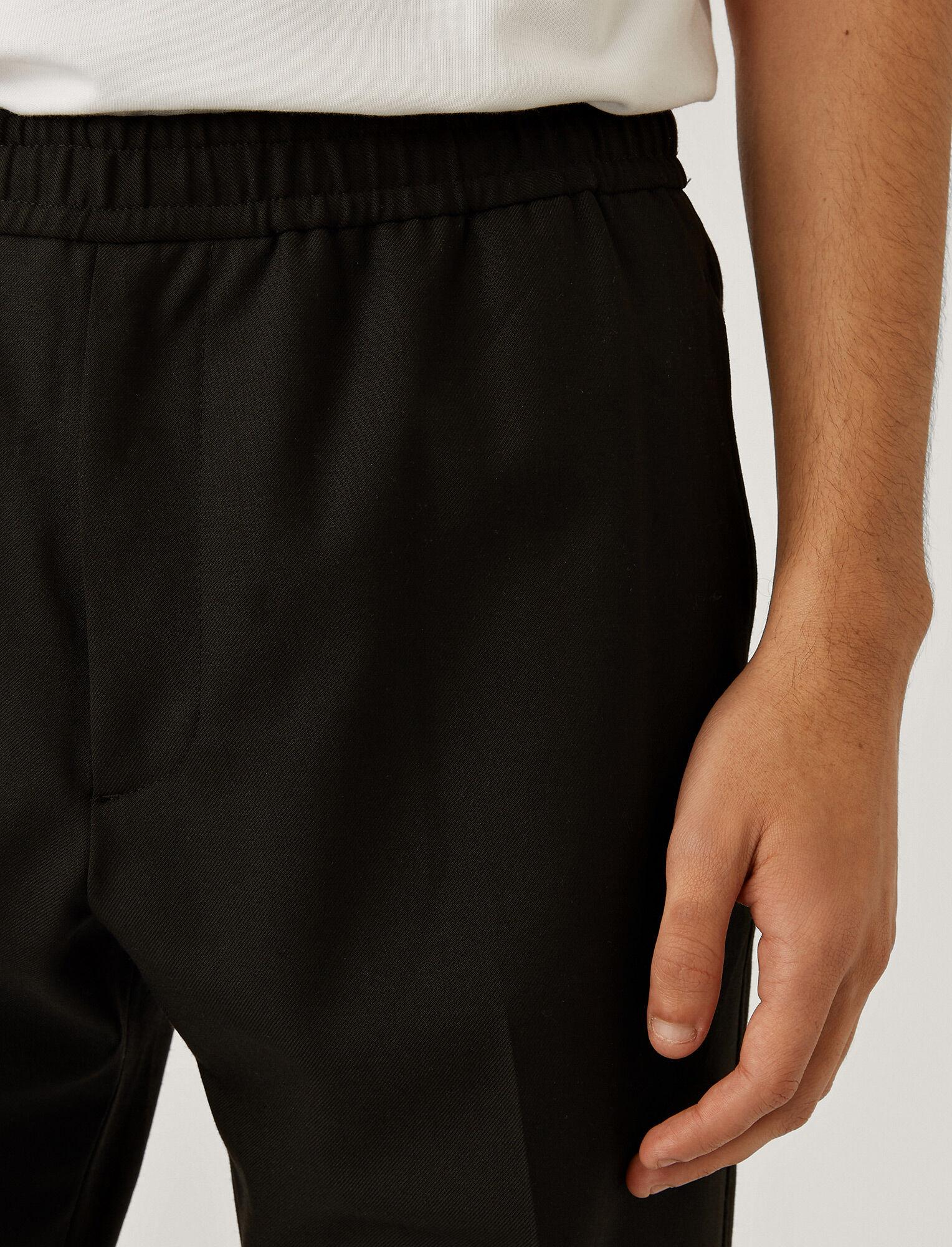 Joseph, Techno Wool Stretch Trousers, in Black