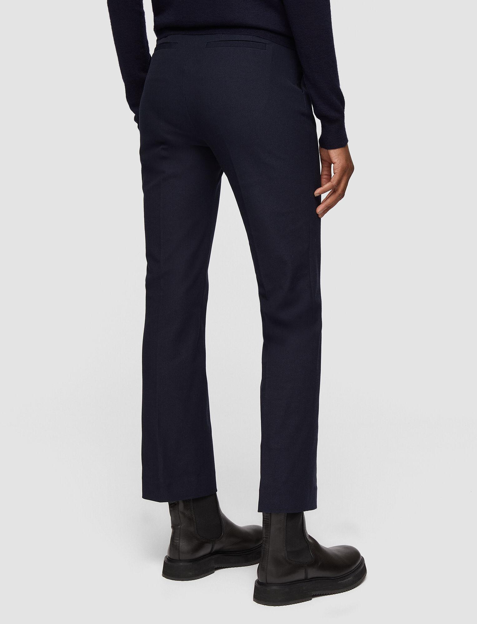 Joseph, Coleman Gabardine Stretch Trousers, in NAVY