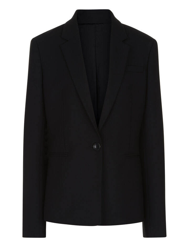 Joseph, William Comfort Wool Jacket, in BLACK