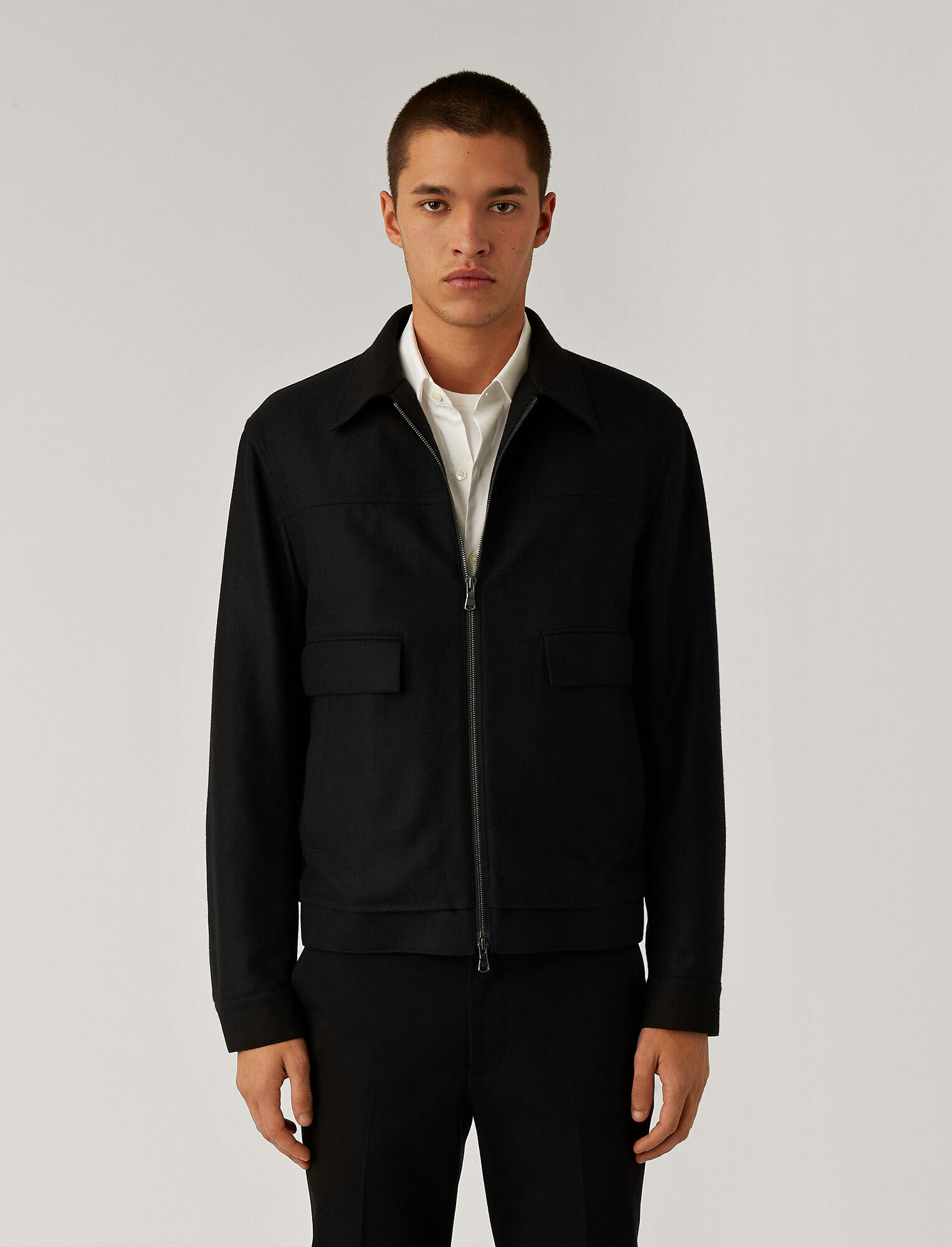 Joseph, Pure Cashmere Jacket, in Black