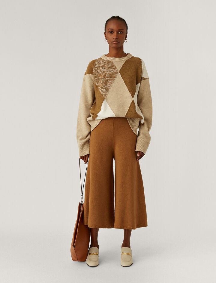 Joseph, Culotte Pants Trousers, in Camel