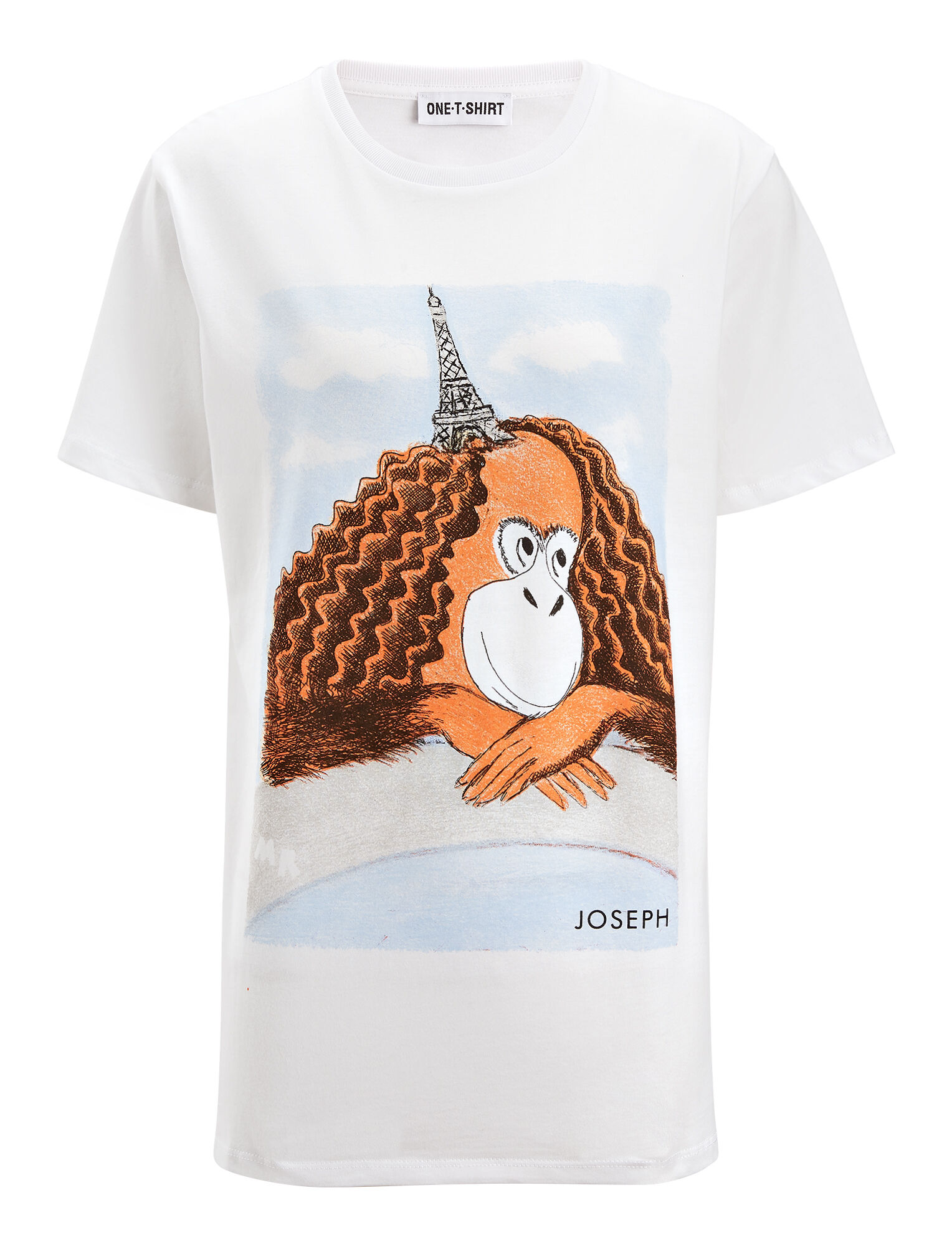 Joseph, GingerNutz Tower Hat Tee, in WHITE